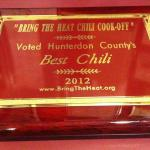 Best Chili Plaque